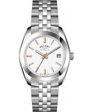 Rotary LB90110-06 Ladies Les Originales Lausanne Silver Steel Watch