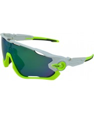 Oakley OO9290-03 Jawbreaker Polished White - Jade Iridium Sunglasses