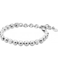 Dyrberg Kern 339350 Ladies Fontana Silver Steel Bracelet with Crystals