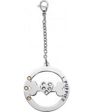 I Puppies PA-001 Dog Steel Crystal Medallion