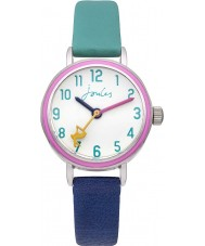 Joules JS015 Girls Mixed Colour Rubber Strap Watch