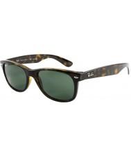 RayBan RB2132 55 New Wayfarer Tortoiseshell 902-58 Polarized Sunglasses