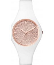 Ice-Watch 001343 Ladies Ice-Glitter White Silicone Strap Small Watch