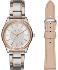 Armani Exchange AX7103 Ladies Dress Watch Gift Set