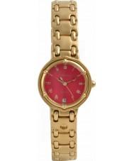 Krug Baümen 5119KL Ladies Charleston Red Gold Watch