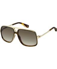 Marc Jacobs Ladies MARC 265 S 086 HA 60 Sunglasses