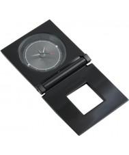 Police POMGA7-0801a Hypnos Travel Clock Black