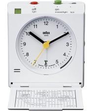 Braun BNC005WHWH Motion Actived Snooze Alarm Clock - White