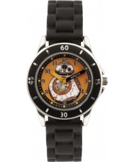 Star Wars SWM3046 Boys BB-8 Watch with Black Silicone Strap