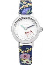Joules JS016 Girls Rotating Disc Floral Printed Silicone Watch