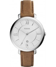 Fossil ES3708 Ladies Jacqueline Brown Leather Strap Watch