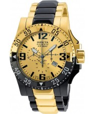 Invicta 20141 Mens Excursion Gold and Black Chronograph Watch