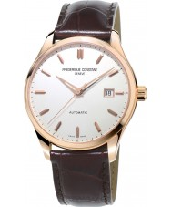 Frederique Constant FC-303V5B4 Mens Classics Index Brown Leather Strap Watch