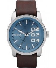 Diesel DZ1512 Mens Double Down Blue Brown Watch