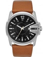 Diesel DZ1617 Mens Master Chief Tan Leather Strap Watch