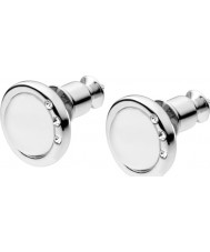Skagen SKJ0103040 Ladies Sea Glass Silver Stone Set Earrings
