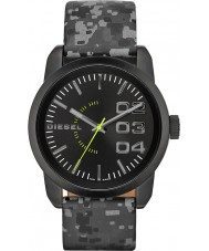 Diesel DZ1664 Mens Double Down Black Camo Watch