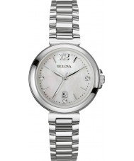 Bulova 96P149 Ladies Diamond Silver Steel Bracelet Watch