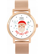 Toff London TLWS-12885-VAR Christmas Santa Slogan Watch