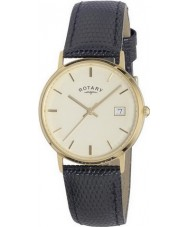 Rotary GS11476-03 Mens Precious Metals 9ct Gold Case Watch