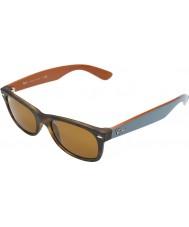 RayBan RB2132 52 New Wayfarer Matte Tortoiseshell 6179 Sunglasses