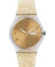 Swatch SUOK704 New Gent - Golden Sparkle Watch