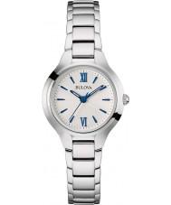Bulova 96L215 Ladies Dress Silver Tone Watch