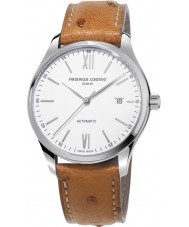Frederique Constant FC-303WN5B6OS Mens Classics Index Light Brown Leather Strap Watch