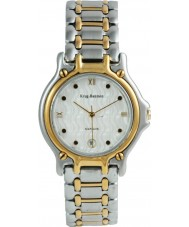 Krug-Baumen 4117KM Gents Marquis Two Tone White Dial