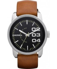 Diesel DZ1513 Mens Double Down Black Tan Watch