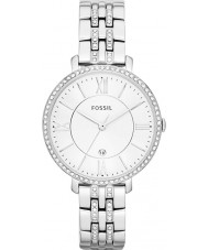 Fossil ES3545 Ladies Jacqueline Silver Tone Steel Watch