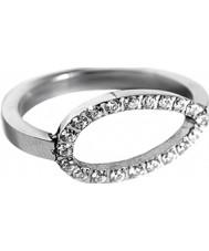 Edblad 79938 Ladies Avalon Round Steel Ring - Size P (M)