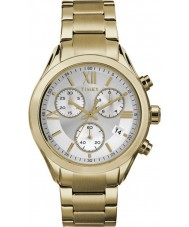 Timex TW2P93700 Ladies City Miami Gold Plated Bracelet Watch