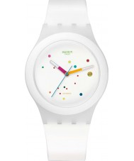 Swatch SUTW400 Sistem51 - Sistem White Automatic Watch