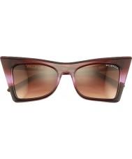 Wildfox Ladies Ivy Purple Ombre Sunglasses