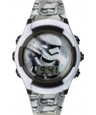 Star Wars SWM3069 Boys Storm Trooper Watch with Grey Plastic Strap