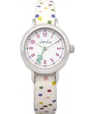 Joules JS018 Girls Watch with Printed and Plain Interchangeable Straps