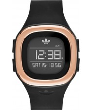 Adidas ADH3085 Mens Denver Matte Black Silicone Strap Watch