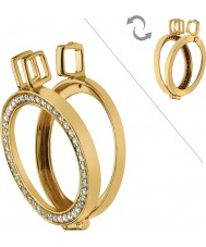 Emozioni Gold Plated Reversible Coin Keeper