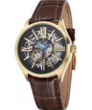 Thomas Earnshaw ES-8037-03 Mens Armagh Brown Croco Leather Strap Watch