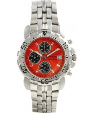 Krug Baümen 7186G-O Sportsmaster Orange Chronograph Watch