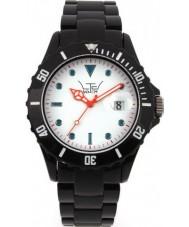 LTD Watch LTD-030115 White Black 3 Hand Watch