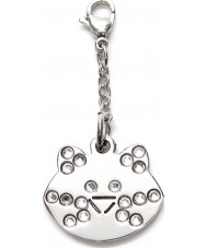 I Puppies PV-001 Cat Steel Crystal Medallion