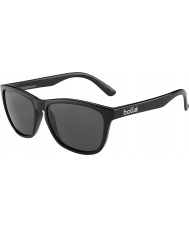 Bolle 437 Retro Collection Shiny Black Polarized TNS Sunglasses