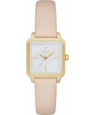 Kate Spade New York KSW1113 Ladies Washington Square Cream Leather Strap Watch