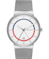 Skagen SKW6251 Mens Ancher Silver Steel Mesh Bracelet Watch