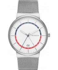 Skagen SKW6251 Mens Ancher Silver Steel Mesh Bracelet Watch
