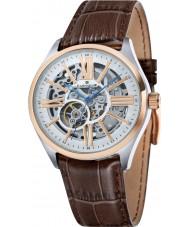 Thomas Earnshaw ES-8037-04 Mens Armagh Brown Croco Leather Strap Watch