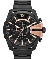 Diesel DZ4309 Mens Mega Chief Black IP Chronograph Watch