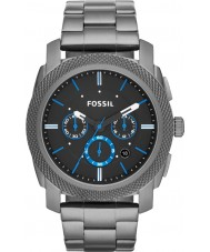 Fossil FS4931 Mens Machine Smoke Steel Chronograph Watch